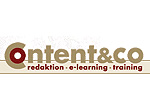 content & co: Redaktion, E-Learning, Training